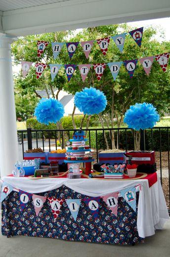 "Photo 6 of 10: Thomas the Train / Birthday ""Isaiah's Choo Choo Train Party"" | Catch My Party"