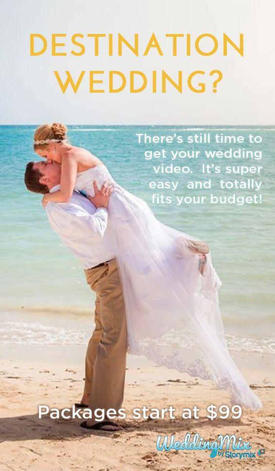 Get Your Last Minute Destination Wedding Video