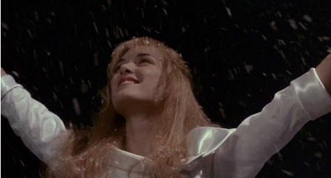 Edward Scissorhands: love the snow/ice sculptures he makes!