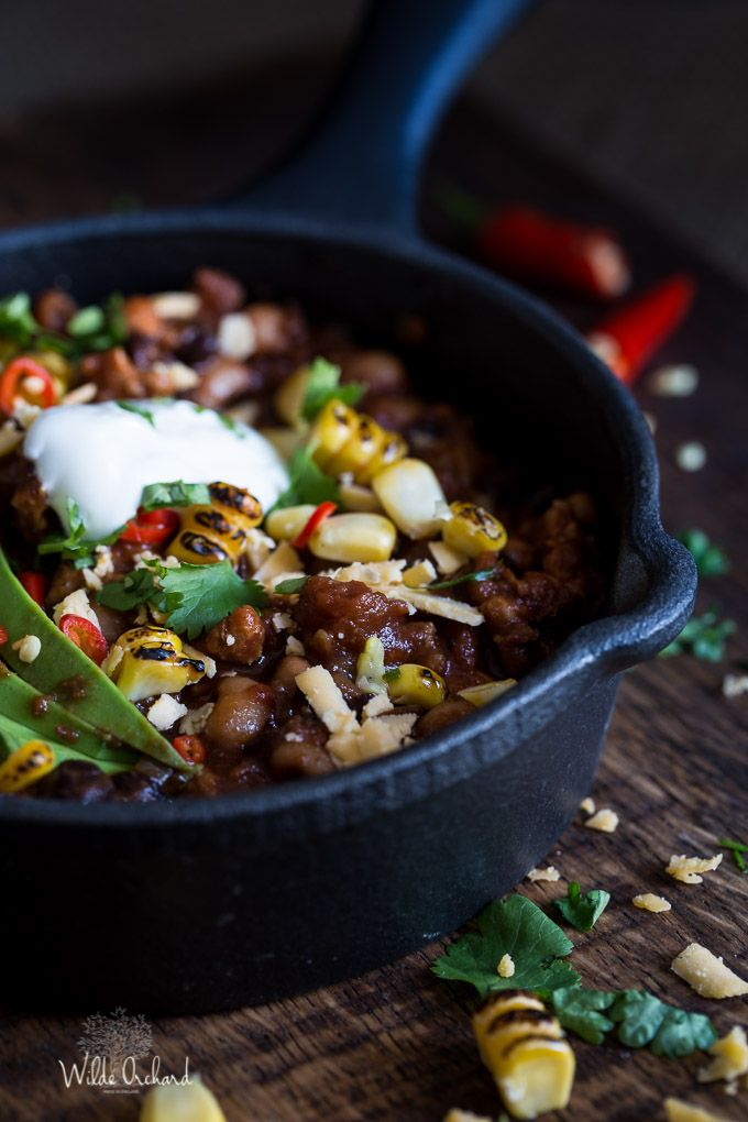Fiery Chipotle Chilli| Wilde Orchard | This is our quick go-to chilli recipe. We love that chipotle spicy kick.