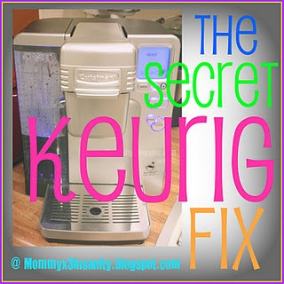 "Fixing the Keurig ""short cup"" syndrome"