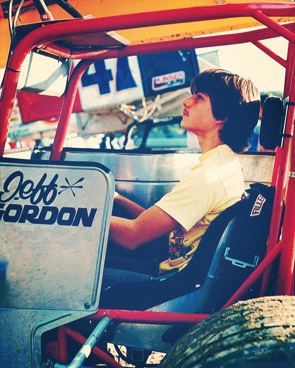 Jeff Gordon This would have been about 1985.