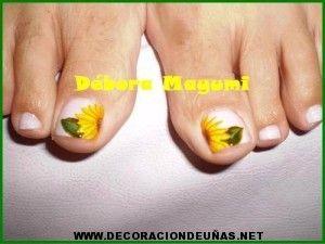 Uñas decoradas papa noel | Decoración de uñas, te enseñamos a ...