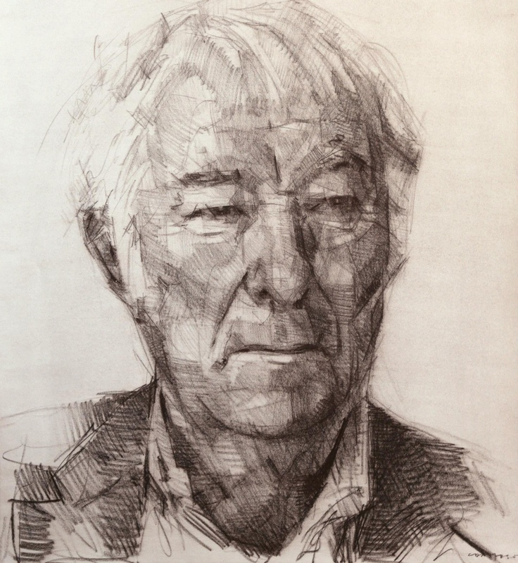 seamus heaney by Colin Davidson