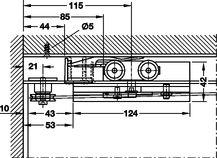 Häfele e@sy link Online Katalog -Baubeschläge -Schiebetürbeschläge -für Glastüren -EKU -Porta 100 GW/GWF-Synchro