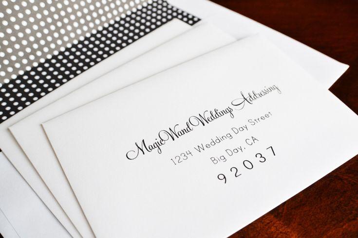Etiquette Addressing Wedding Invitations: Best 25+ Envelope Addressing Etiquette Ideas On Pinterest