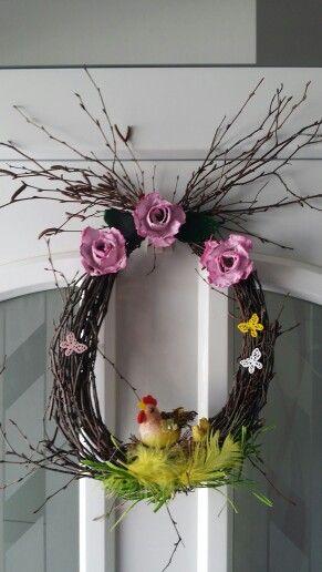 Velikonoční  věneček