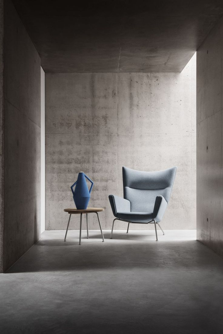 Tulip chair skandium - The Wing Chair Designed By Hans J Wegner In 1960 Wingchair