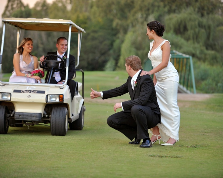 #Golf themed #wedding at the Riviera on Vaal Hotel and Country Club