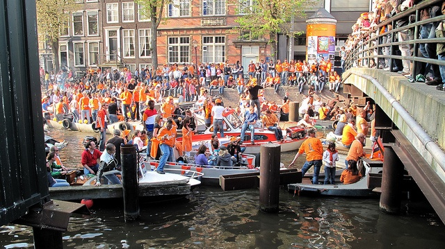 amsterdam queen's day