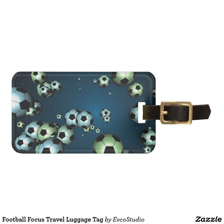 Football Focus Travel Luggage Tag