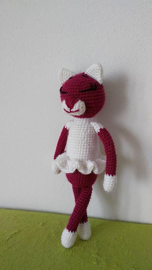 Jamin / Mica cica crochet cat