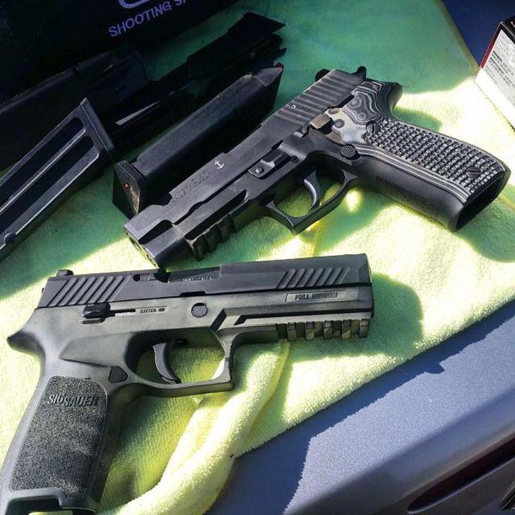Sig P226 and P320 Buffalo Tactical www.Buffalofirearms.com…