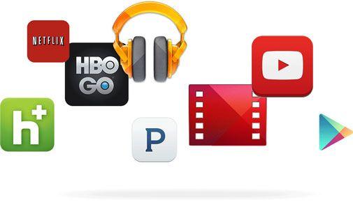 Приложения, поддерживающие Chromecast