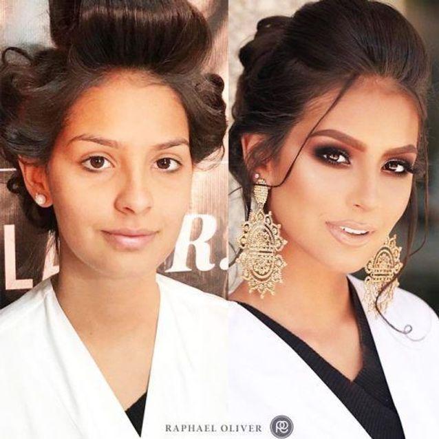 Avant Apres Ces Maquillages De Mariee Vont Vous Laisser Bouche Bee Elle Maquillage Avant Apres Maquillage De Mariee Contour Maquillage