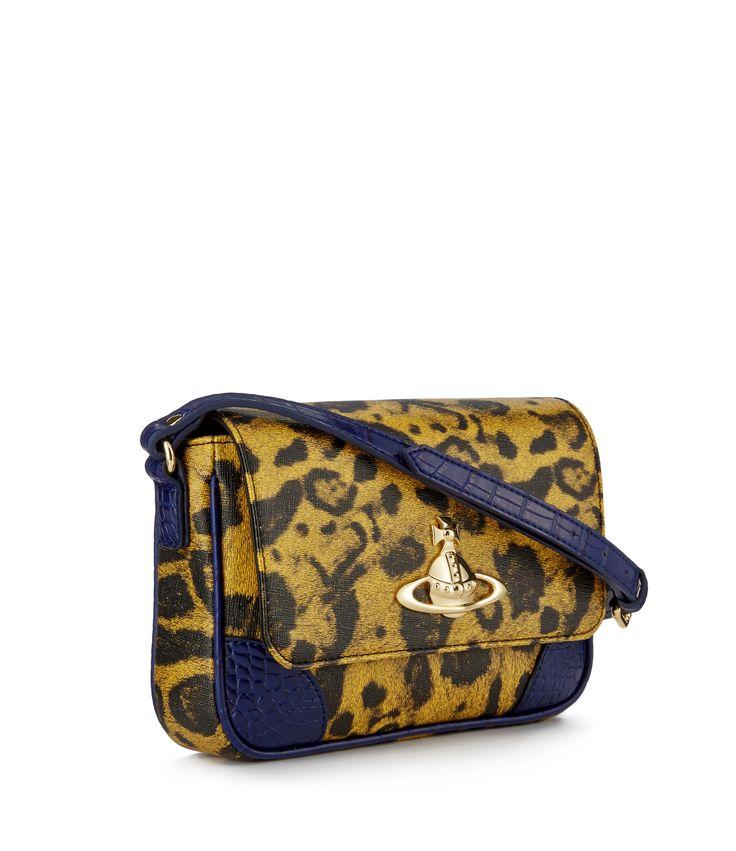 Jungle Leopard Bag 6902 Yellow