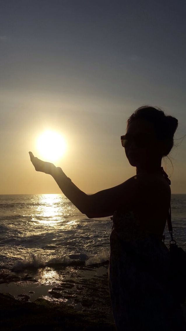 Love beach love sunset #nofilter