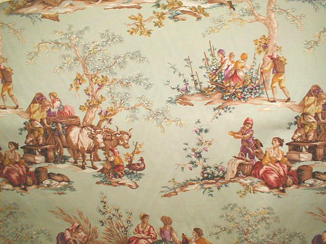 Pinterest Decorating With Toile: Image Detail For -fabric-walmart-toile-05.jpg