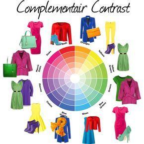 Si te gusta vestir con tonos contrastantes pero no sabes como combinarlos, guíate por los colores complementarios y no fallarás nunca. #colores #consejos #trucos