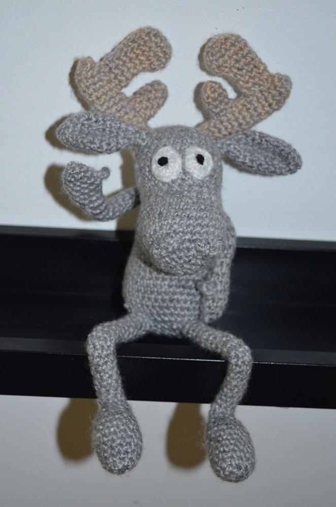 Hälge Älg, Virkat - Crochet