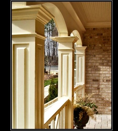 Advanced Cellular Vinyl Porch Columns Exterior Vinyl