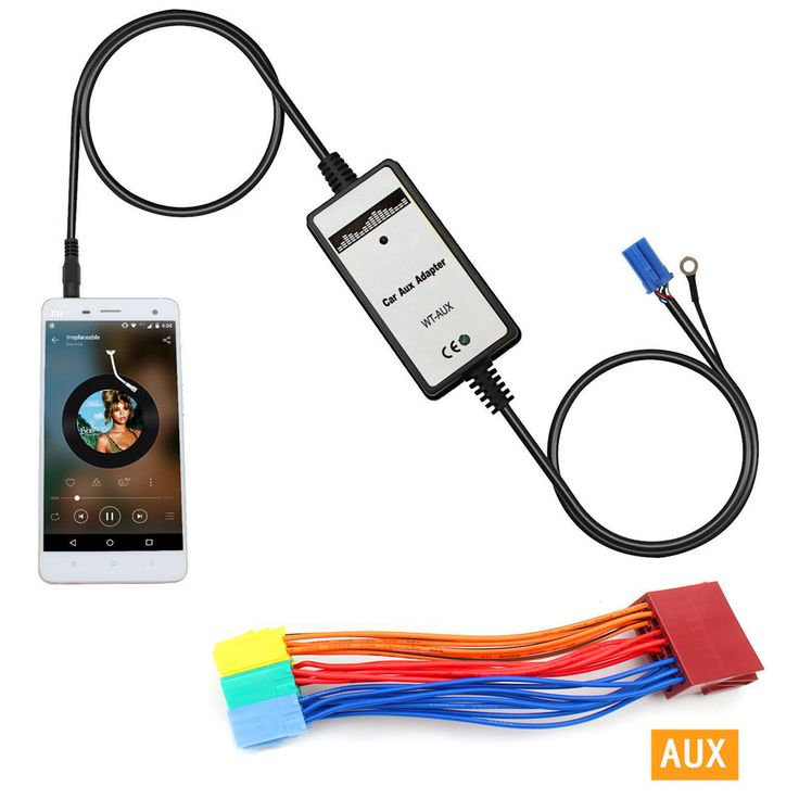 Car MP3 Player Radio Interface AUX In Adapter For Audi Chorus Concert Symphony