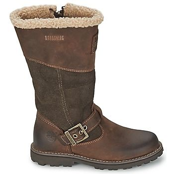 Stivali Timberland EK SKYHAVEN TALL BOOT WITH FAUX SHEARLING Marrone 350x350