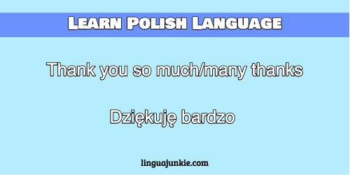 Learn polish greetings pronunciation