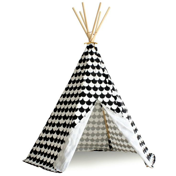 Indiantält Tipi Arizona Svart