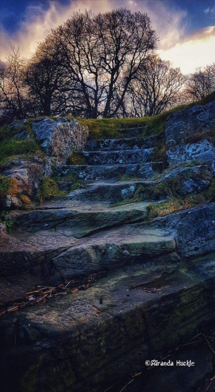 Hobbity Steps in SouthQueensferry Scotland Steps Hobbit