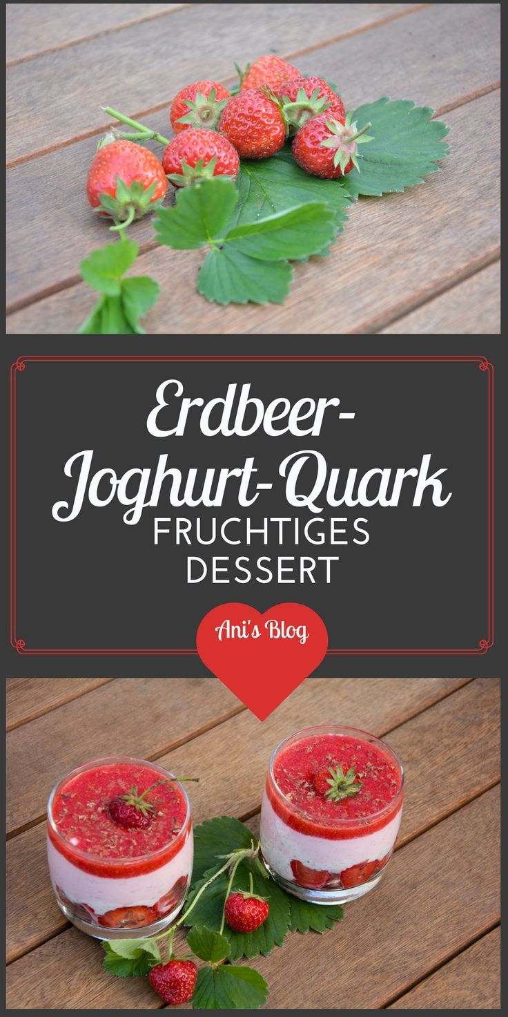 Ein leichtes Erdbeerdessert an sommerlichen Tagen, dieses Rezept vereint Erdbeeren, Joghurt und Stracciatella-Quark zu einer leckeren Drei-Schicht-Dessert. Der fruchtige Erdbeerspiegel krönt den Erdbeer-Traum. http://honeyani85.blogspot.de/2016/07/erdbeerspecial-erdbeer-stracciatella.html