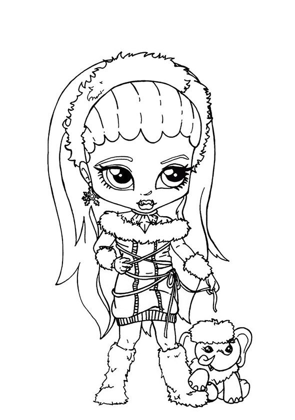 Ausmalbilder Baby Monster High Http Www Ausmalbilder Co Ausmalbilder Baby Monster High Halloween Coloring Pictures Cartoon Coloring Pages Coloring Pages