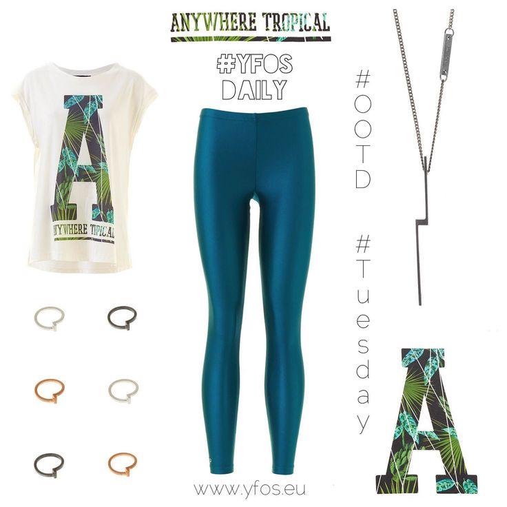 The F Blog: #Yfos Daily    'Anywhere Tropical'