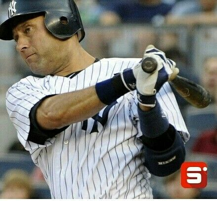 """Here's your weekly dose of inspiration: """"There may be people who have more talent than you, but there is no excuse for anyone to work harder than you do."""" Derek Jeter #Sportido #derekjeter #baseball #whatinspiresus #hardwork"""
