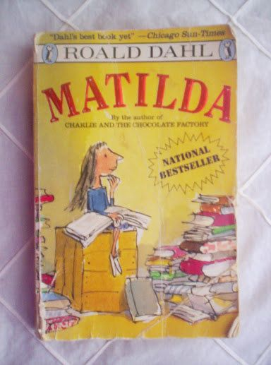 Matilda by Roald Dahl  1990 vintage book by PortaPortese on Etsy