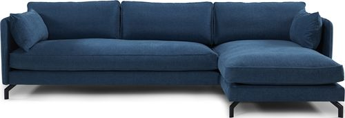 BONHAM 3-sits soffa med divan tyg prisgrupp 3
