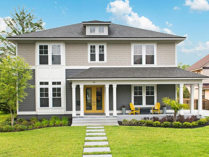 23 Best Two Tone Exterior House Paint Images On Pinterest