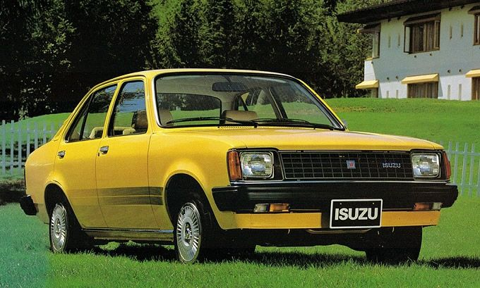 いすゞ ジェミニ PF60 (出典:favcars.com)