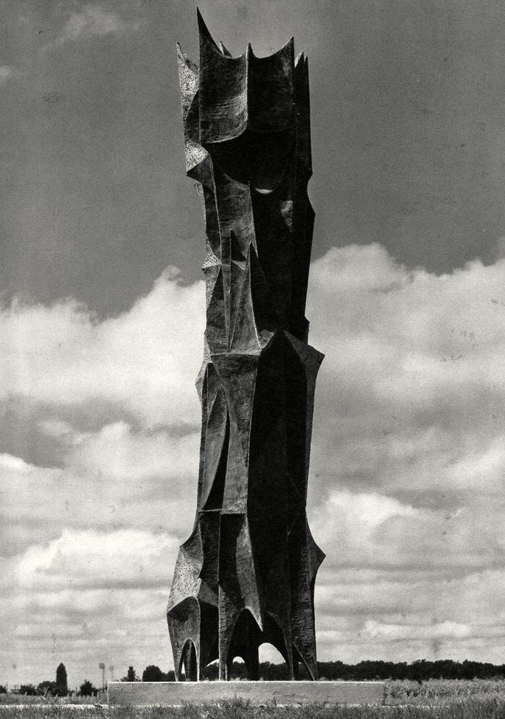 Spomenik of December's victims by Dusan Dzamonja 1960. / Zagreb,Croatia #socialist #spomenik