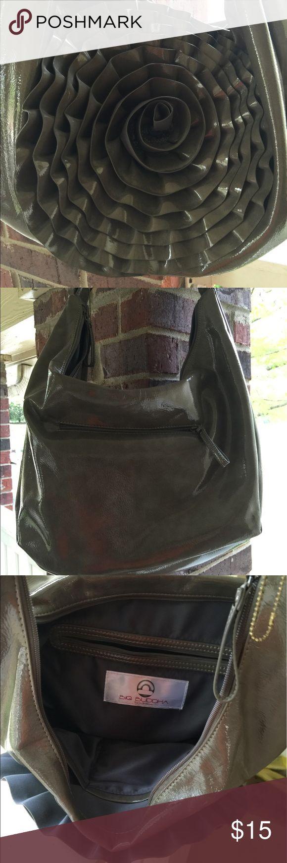 Large big Buddha grey handbag with shoulder strap Large big Buddha grey handbag with shoulder strap Big Buddha Bags Shoulder Bags