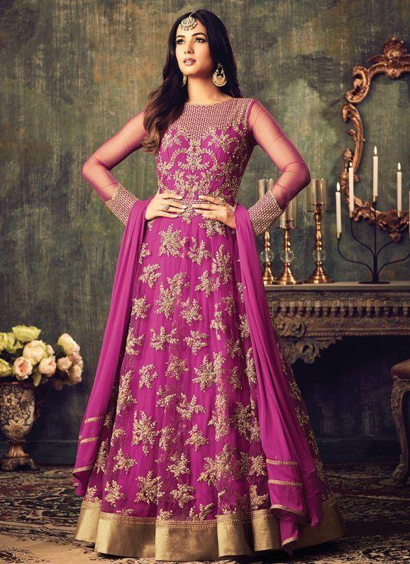 372 best Anarkali dresses images on Pinterest | Vestido pakistaní ...