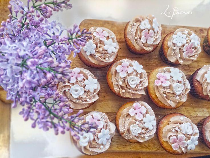 candy bar cupcakes floricele