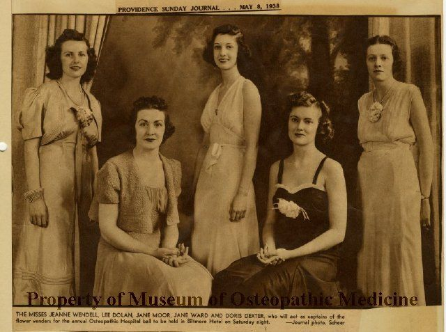 1938. Museum of Osteopathic Medicine