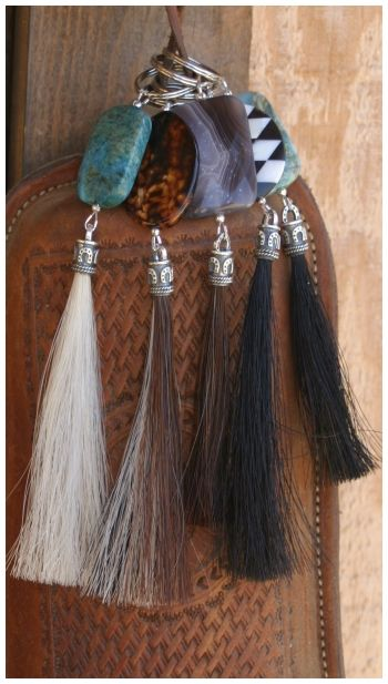 I want one of these keychains made out of my horses mane or tail hairs!