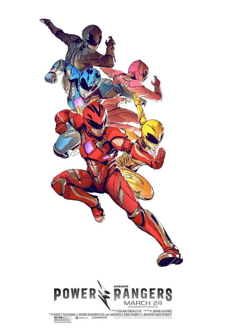 Uno de los últimos posters de Power Rangers