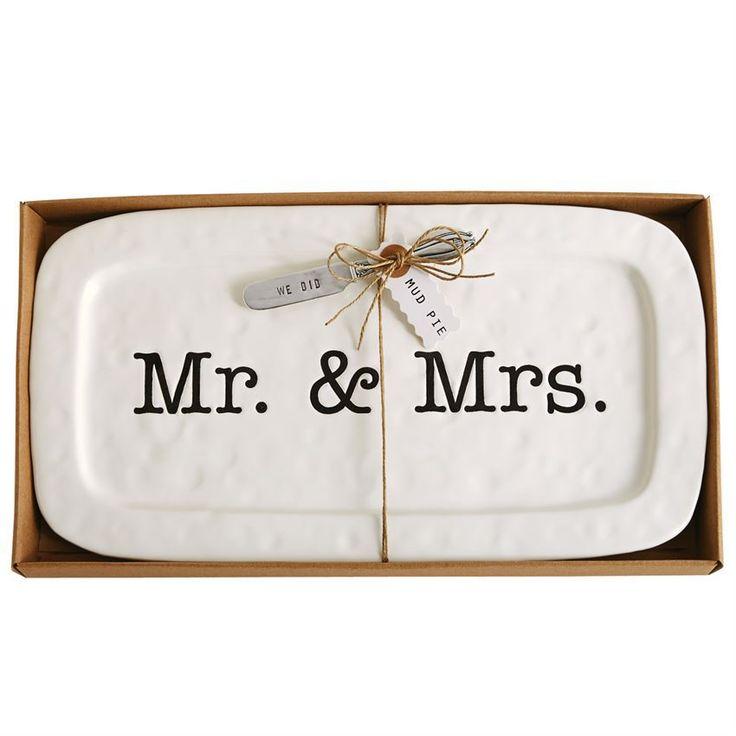 Wedding Hostess Tray Set by Mudpie - mudpie, wedding, hostess, tray, m