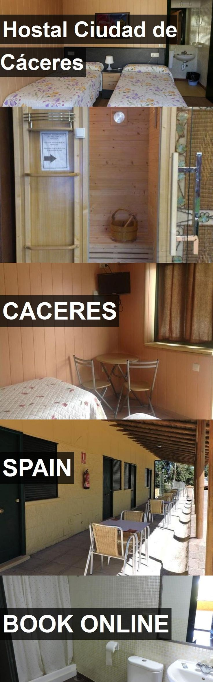 Hotel Hostal Ciudad de Cáceres in Caceres, Spain. For more information, photos, reviews and best prices please follow the link. #Spain #Caceres #travel #vacation #hotel