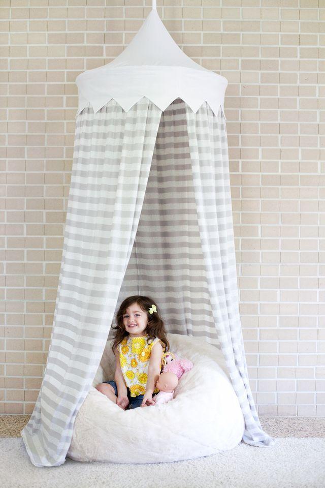 Hula Hoop Tent Tutorial