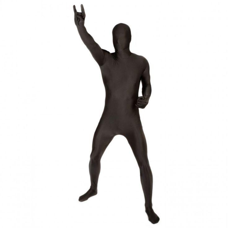 Morphsuit Sort - Heldekkende kostyme til voksne | Festmagasinet Standard