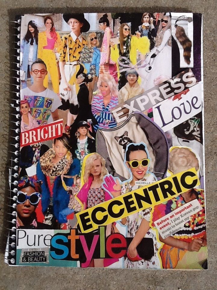 DIY: Magazine Collage Notebook for Teens!